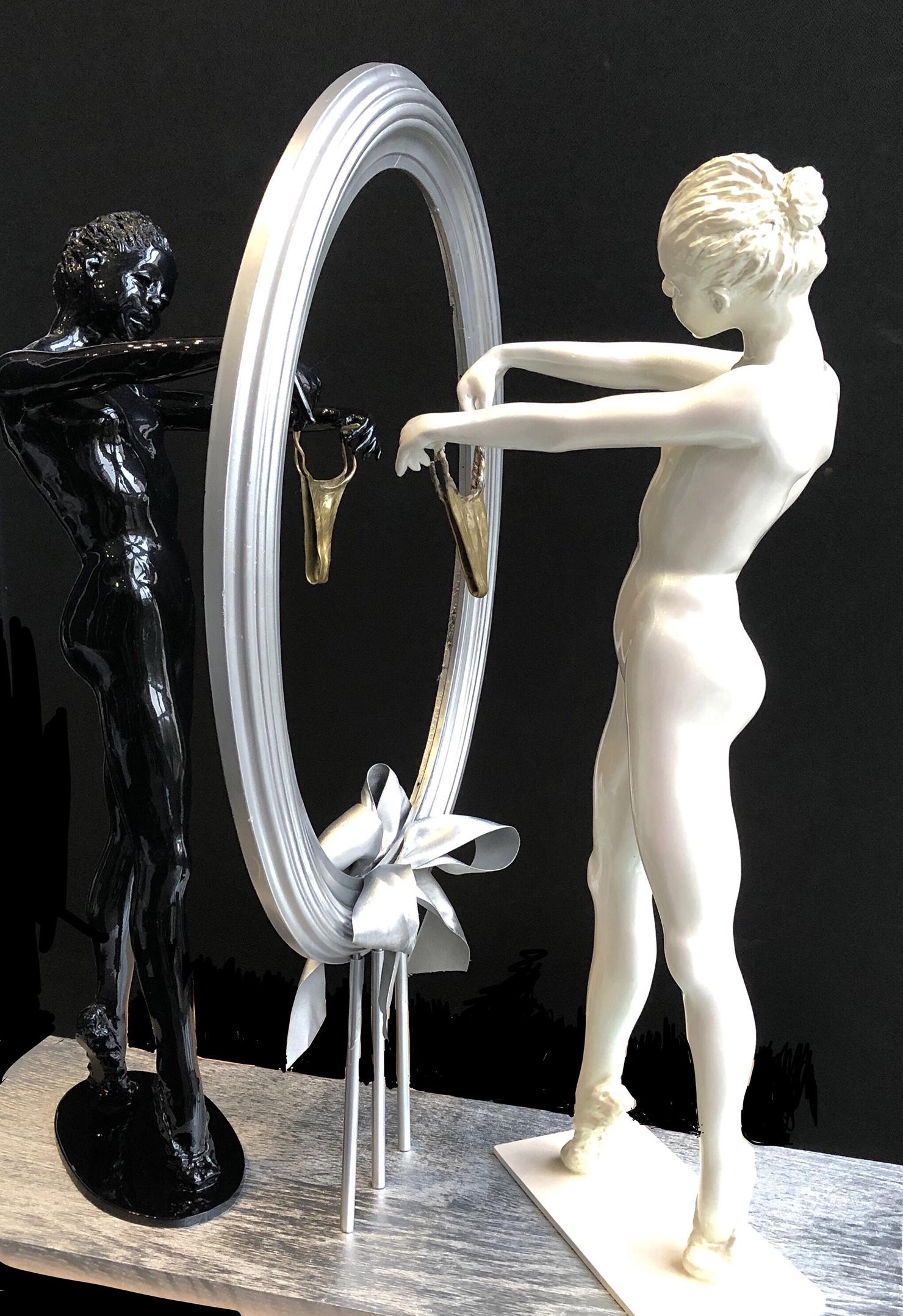 AURIA (Patricia MAZE) Danseuse au miroir
